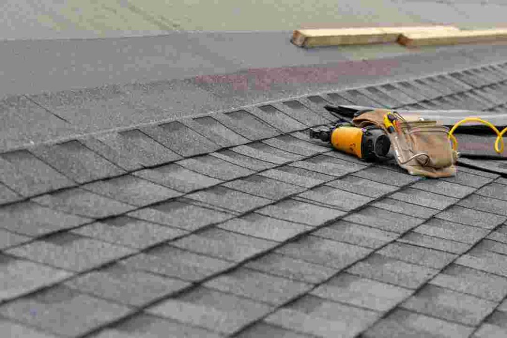 Denton County Architectural roof shingles on a home roof